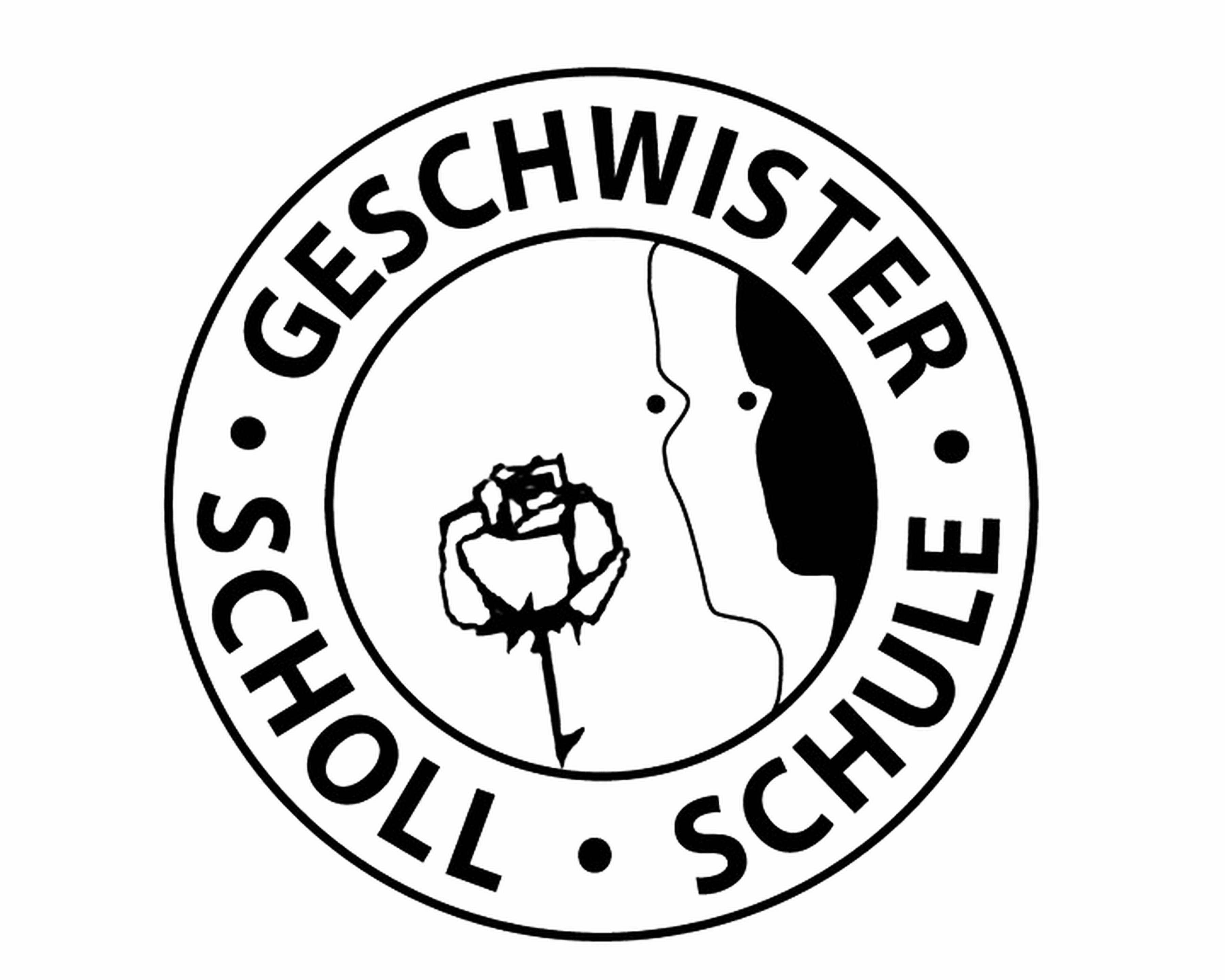 Geschwister-Scholl Hauptschule - Logo